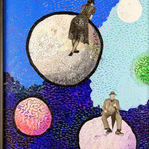 Mannetje op de maan